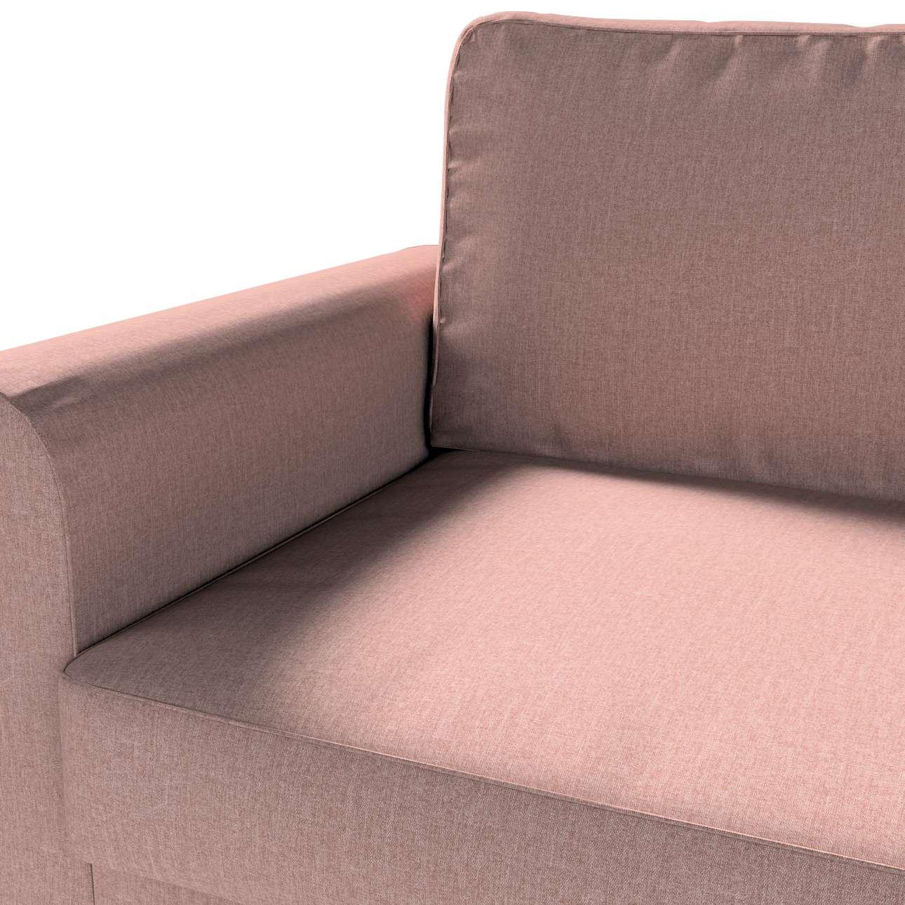 Pokrowiec na sofę Backabro 3-osobową rozkładaną w kolekcji City, tkanina: 704-83