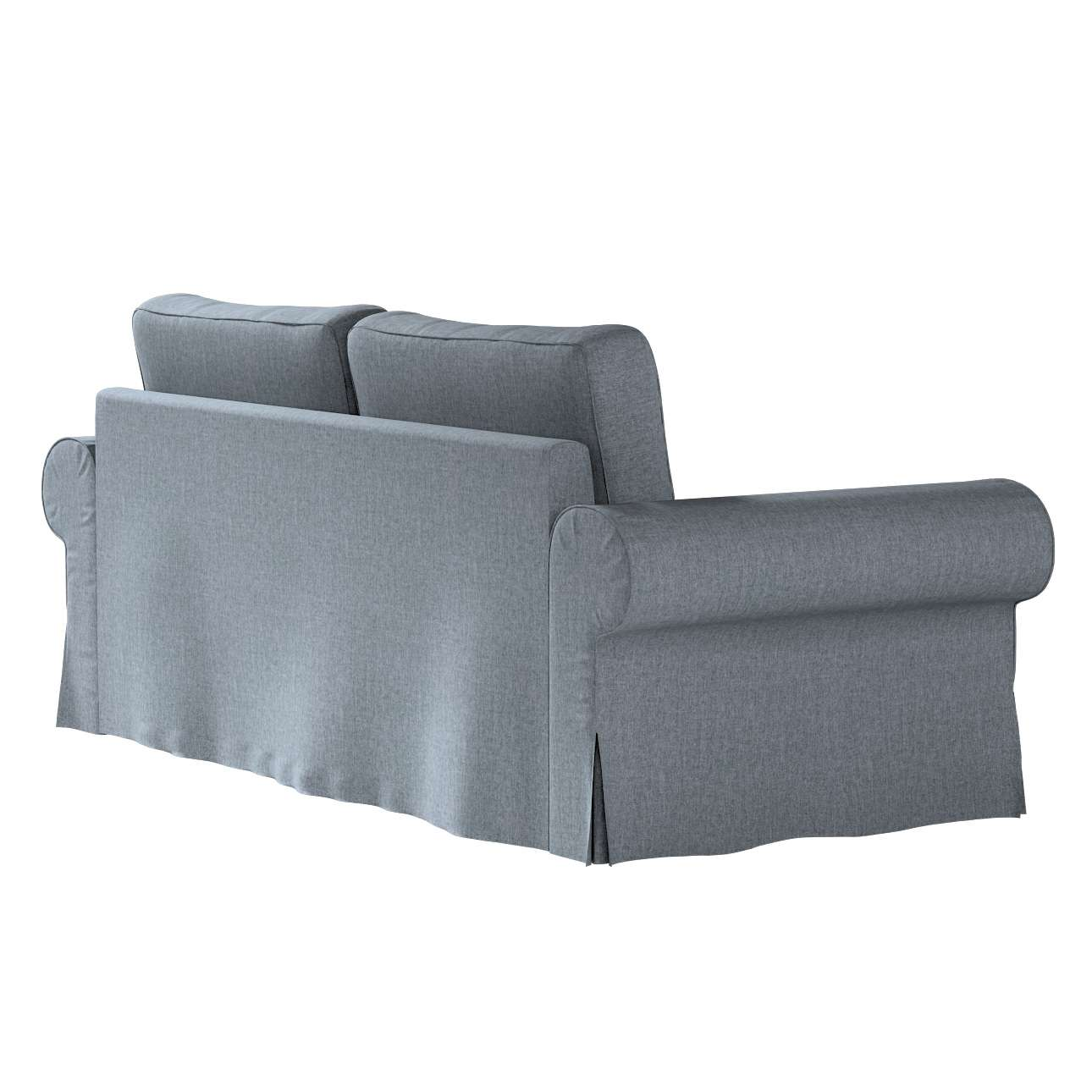 Pokrowiec na sofę Backabro 3-osobową rozkładaną w kolekcji City, tkanina: 704-86