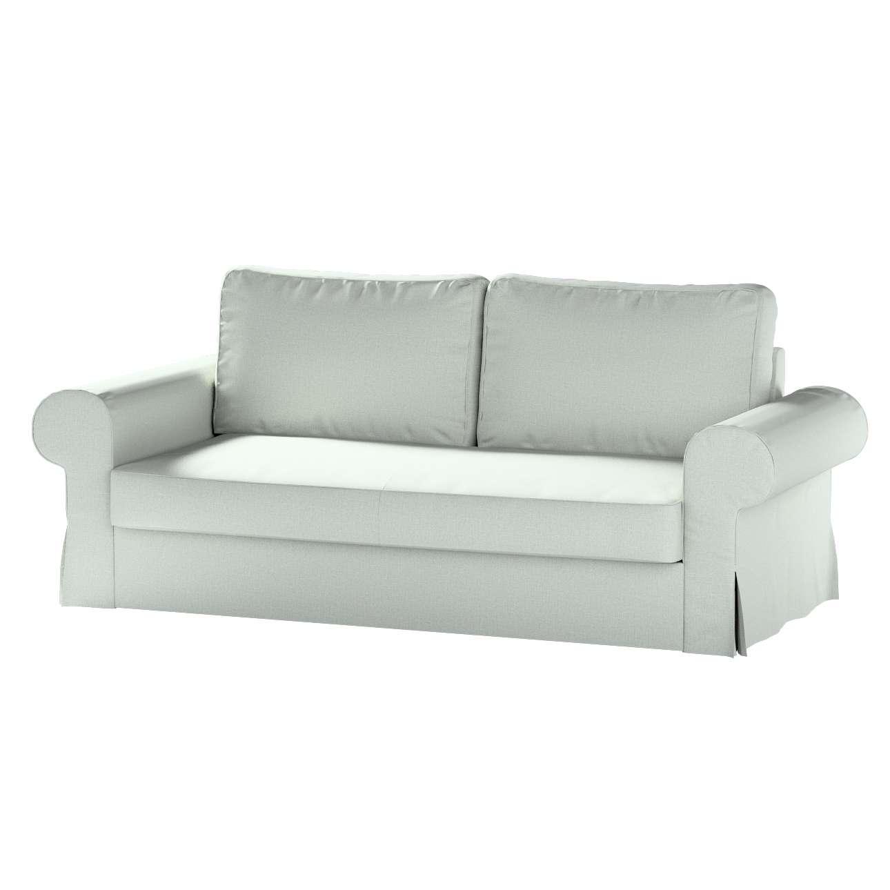 Pokrowiec na sofę Backabro 3-osobową rozkładaną w kolekcji Living, tkanina: 161-41