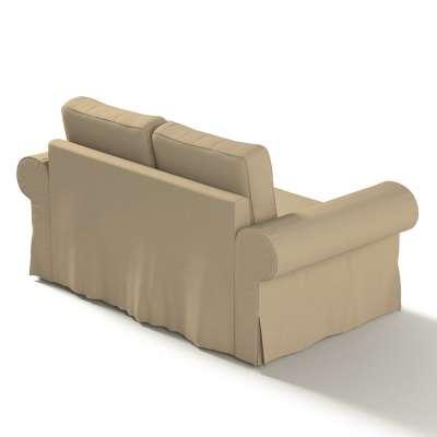 Backabro 2-Sitzer Sofabezug nicht ausklappbar von der Kollektion Cotton Panama, Stoff: 702-01