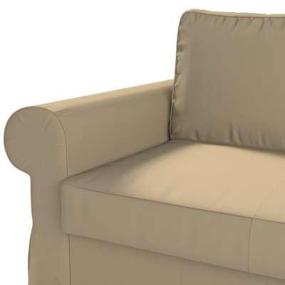 Pokrowiec na sofę Backabro 2-osobową rozkładaną w kolekcji Cotton Panama, tkanina: 702-01