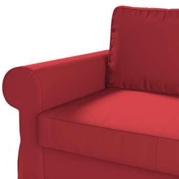 Backabro 2-Sitzer Sofabezug nicht ausklappbar von der Kollektion Cotton Panama, Stoff: 702-04