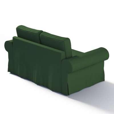 """Dvivietės sofos """"Backabro""""  užvalkalas 702-06 tamsiai žalia (alyvuogių spalvos) Kolekcija Cotton Panama"""