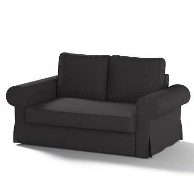 """Dvivietės sofos """"Backabro""""  užvalkalas 702-09 juoda Kolekcija Cotton Panama"""