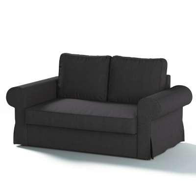 """Dvivietės sofos """"Backabro""""  užvalkalas 702-20 grafito (pilkos spalvos) šenilinis audinys Kolekcija Chenille"""