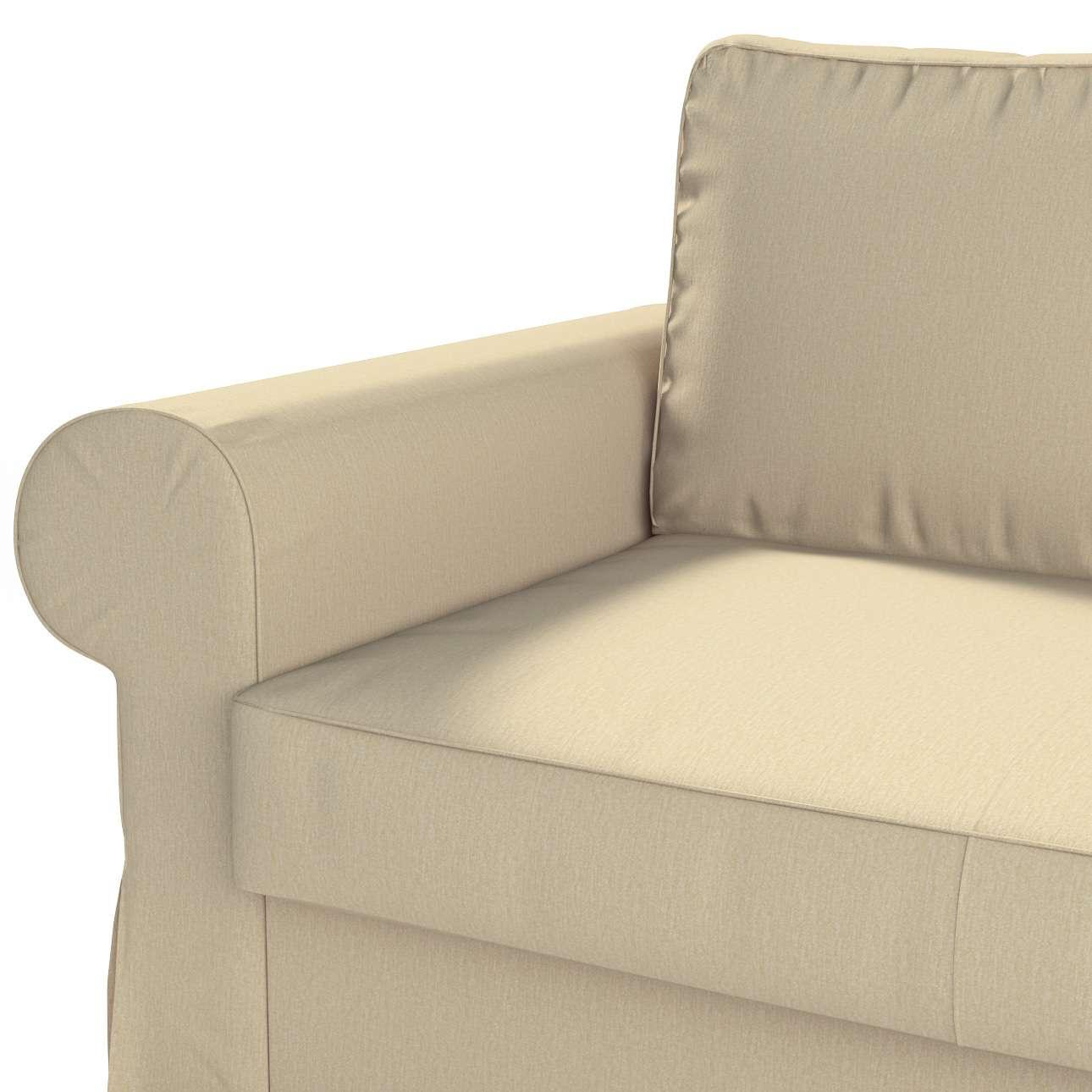Pokrowiec na sofę Backabro 2-osobową rozkładaną w kolekcji Chenille, tkanina: 702-22