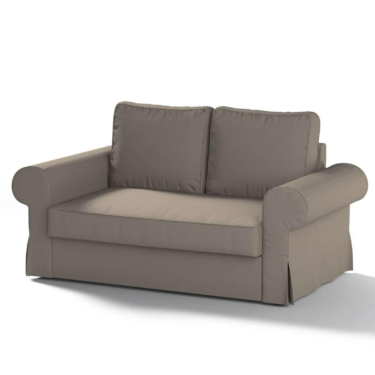 Pokrowiec na sofę Backabro 2-osobową rozkładaną sofa Backabro 2-osobowa rozkładana w kolekcji Cotton Panama, tkanina: 702-28