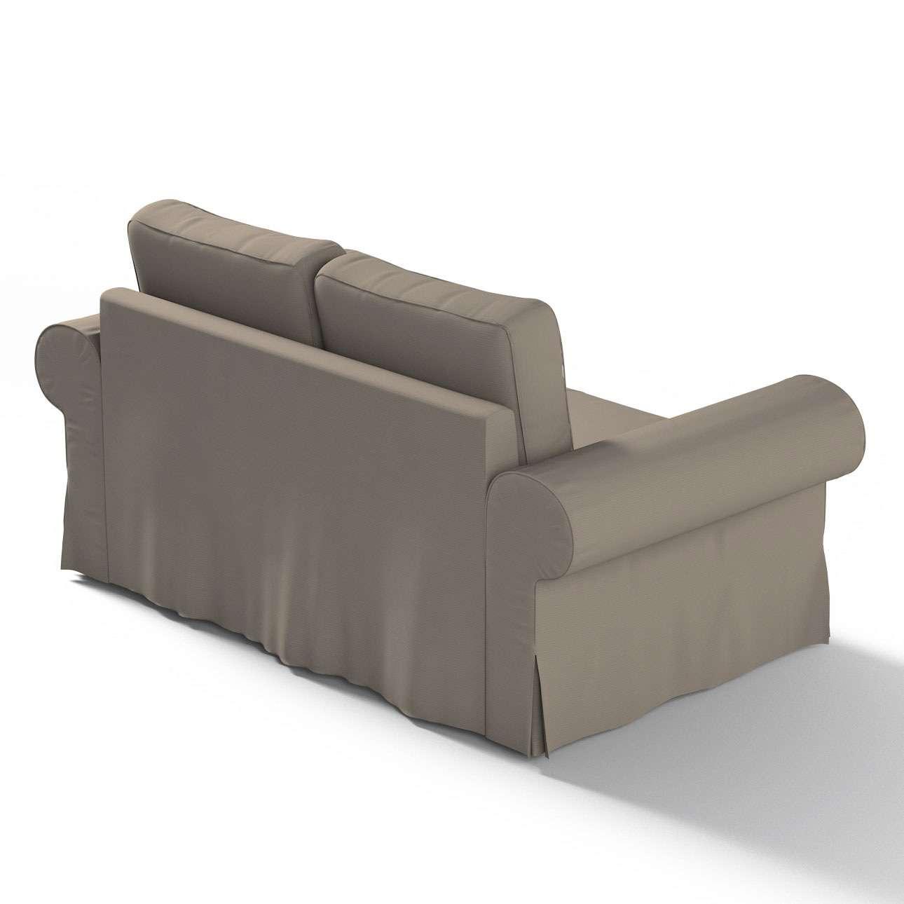 Backabro 2-Sitzer Sofabezug nicht ausklappbar von der Kollektion Cotton Panama, Stoff: 702-28