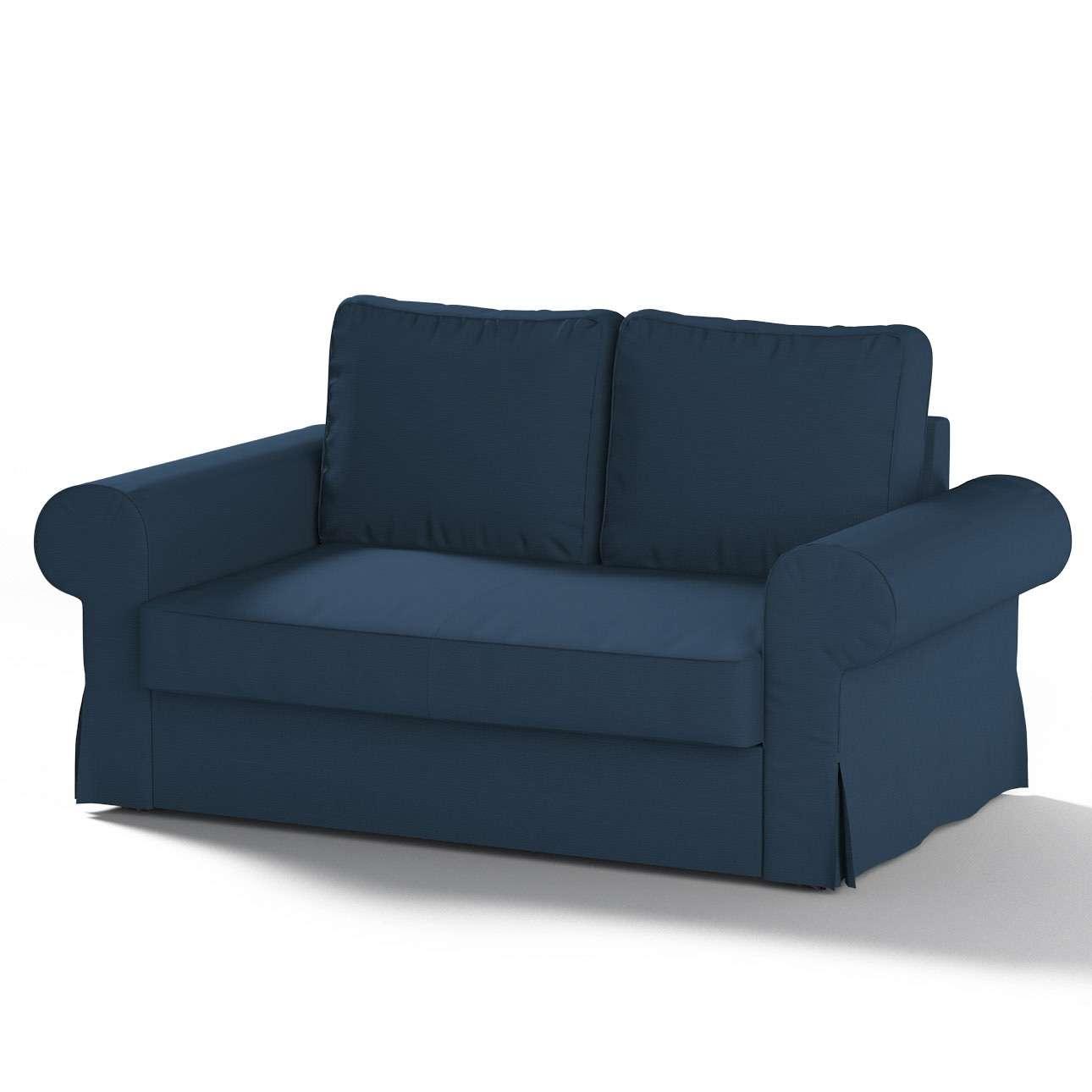 Pokrowiec na sofę Backabro 2-osobową rozkładaną sofa Backabro 2-osobowa rozkładana w kolekcji Cotton Panama, tkanina: 702-30