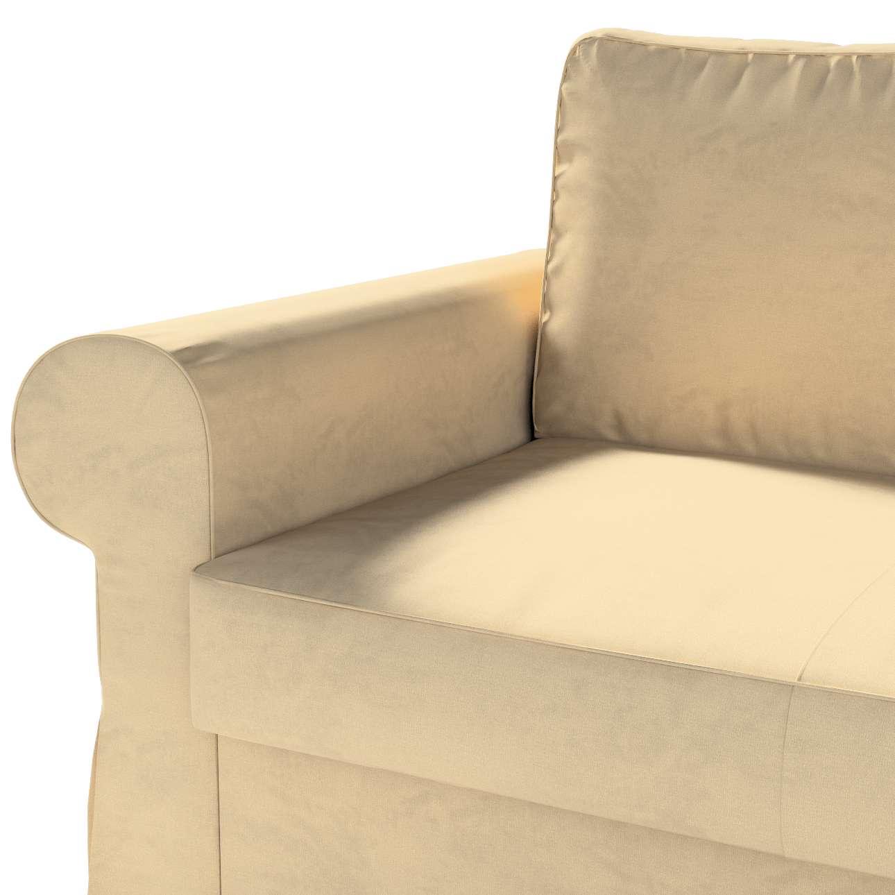 Pokrowiec na sofę Backabro 2-osobową rozkładaną w kolekcji Living II, tkanina: 160-82