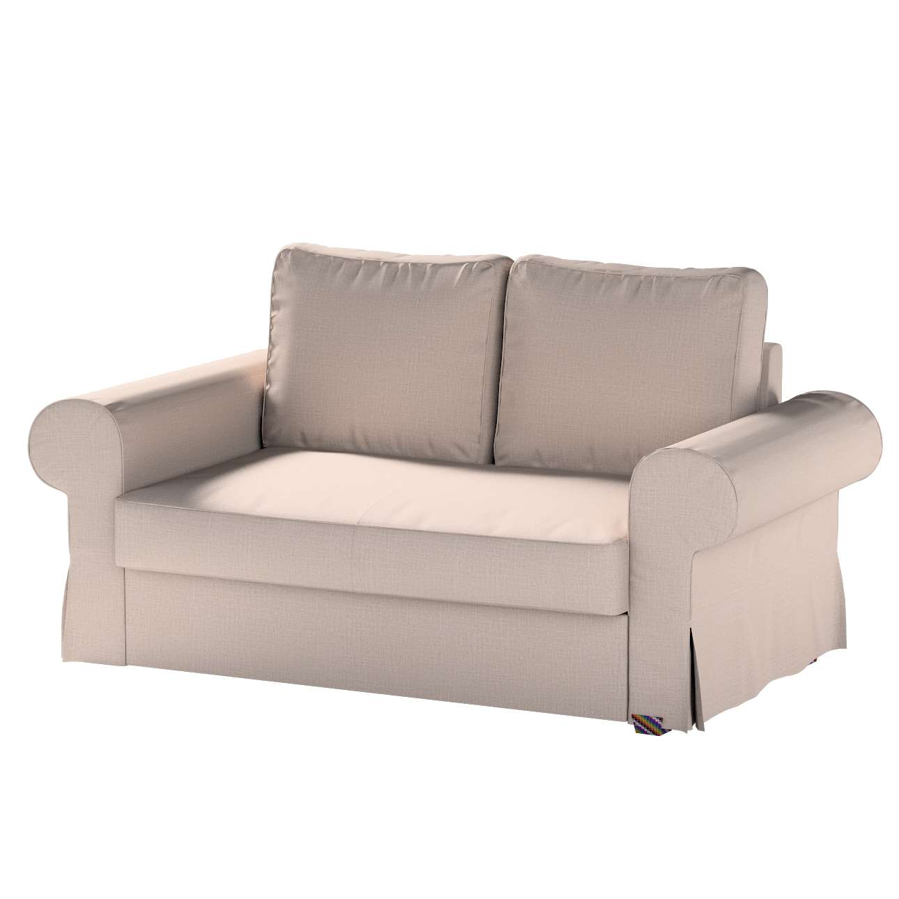 Pokrowiec na sofę Backabro 2-osobową rozkładaną w kolekcji Living, tkanina: 160-85