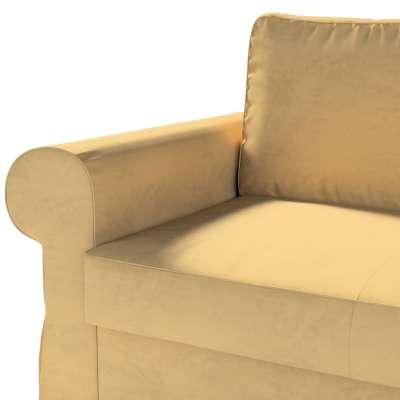 Pokrowiec na sofę Backabro 2-osobową rozkładaną w kolekcji Living II, tkanina: 160-93