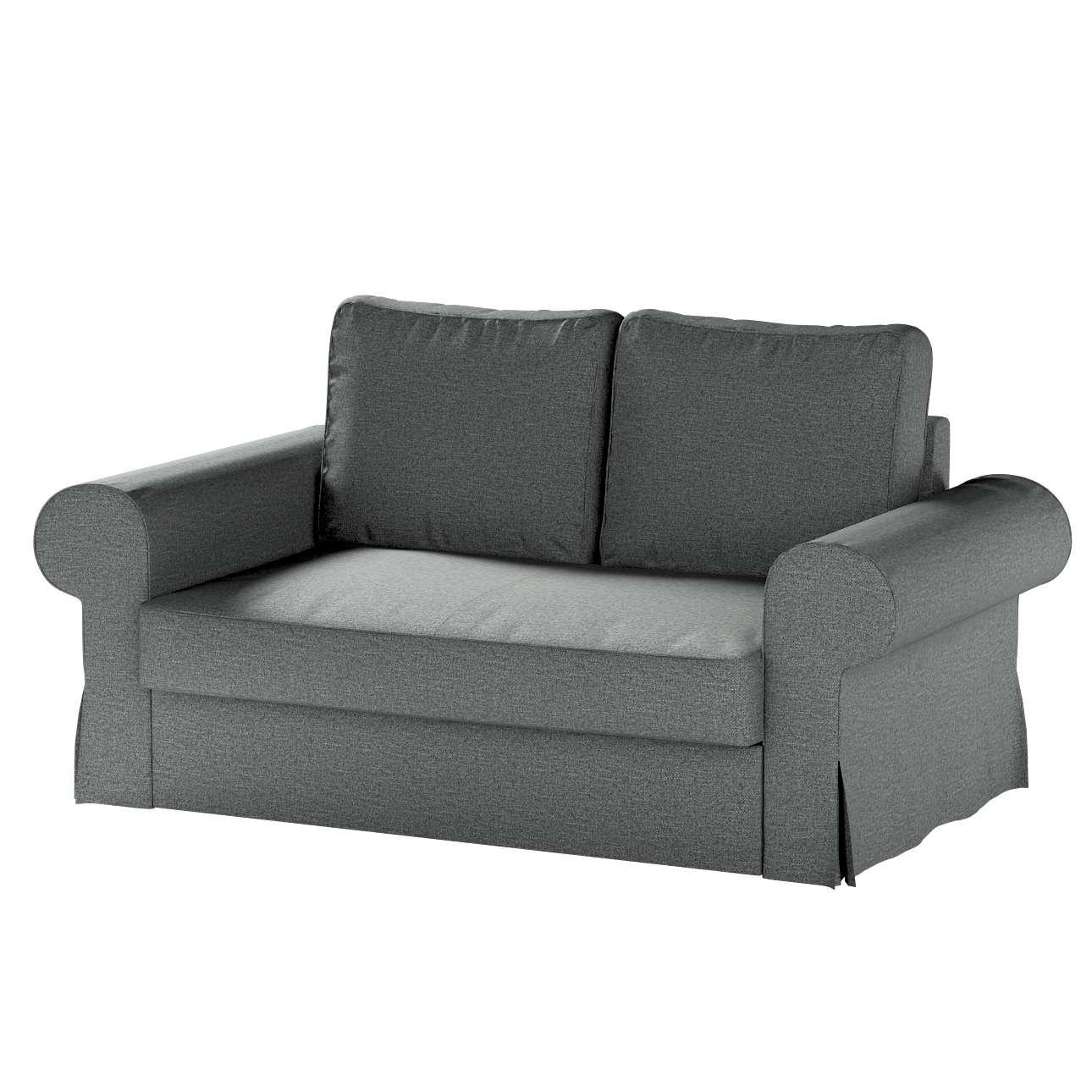 Pokrowiec na sofę Backabro 2-osobową rozkładaną w kolekcji Madrid, tkanina: 161-24