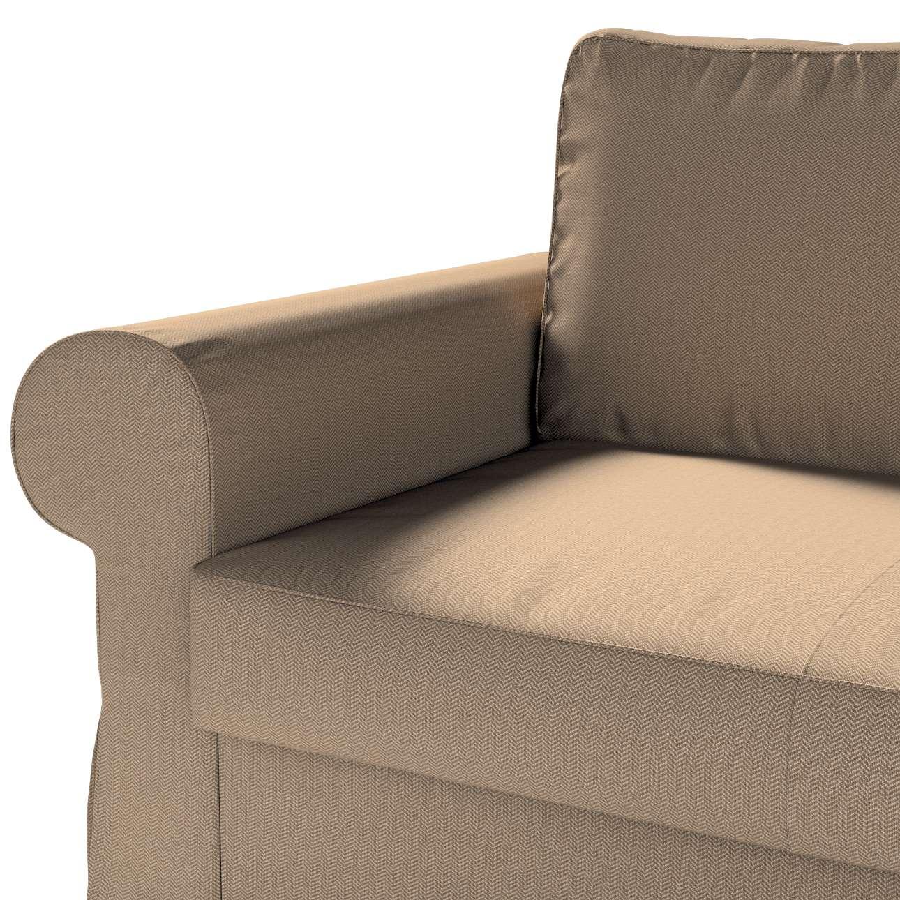 Pokrowiec na sofę Backabro 2-osobową rozkładaną w kolekcji Bergen, tkanina: 161-85