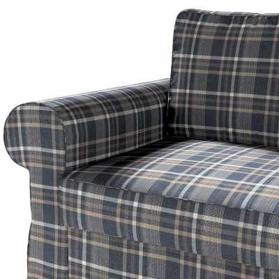 Pokrowiec na sofę Backabro 2-osobową rozkładaną w kolekcji Edinburgh, tkanina: 703-16