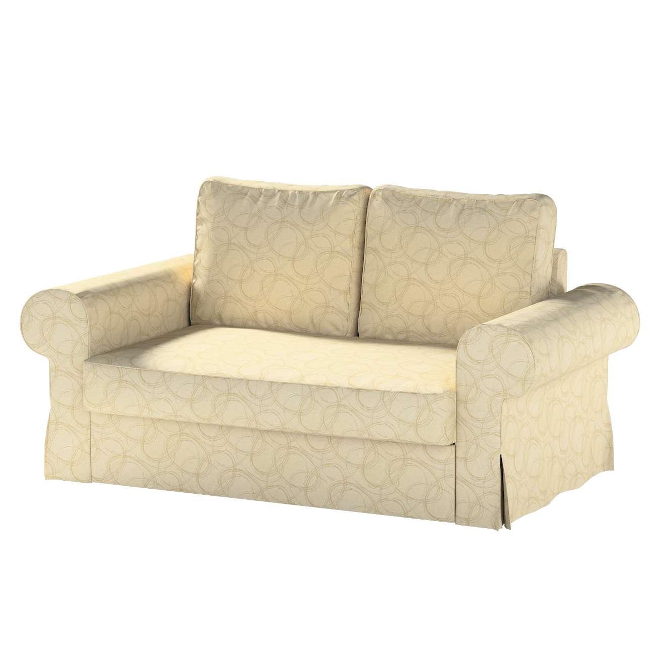 Pokrowiec na sofę Backabro 2-osobową rozkładaną w kolekcji Living, tkanina: 161-81