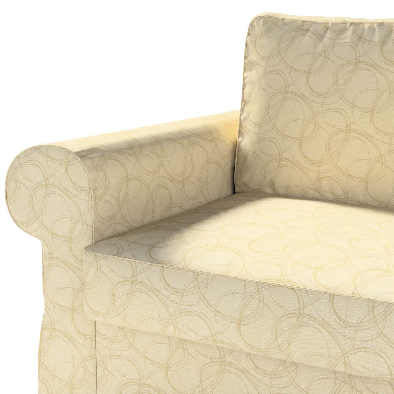 Bezug für Backabro 2-Sitzer Sofa ausklappbar von der Kollektion Living, Stoff: 161-81