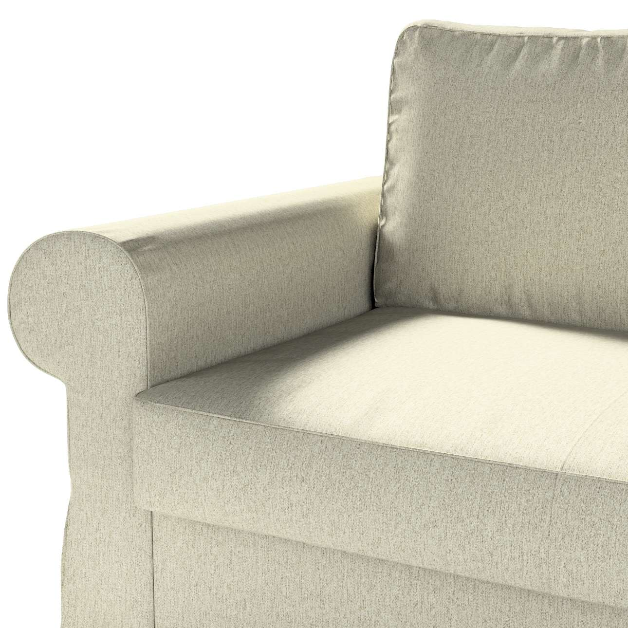 Pokrowiec na sofę Backabro 2-osobową rozkładaną w kolekcji Living, tkanina: 161-62