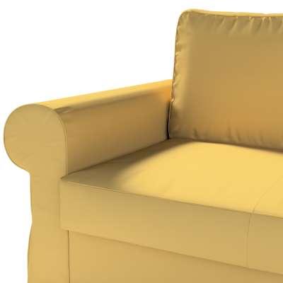 Pokrowiec na sofę Backabro 2-osobową rozkładaną w kolekcji Cotton Panama, tkanina: 702-41