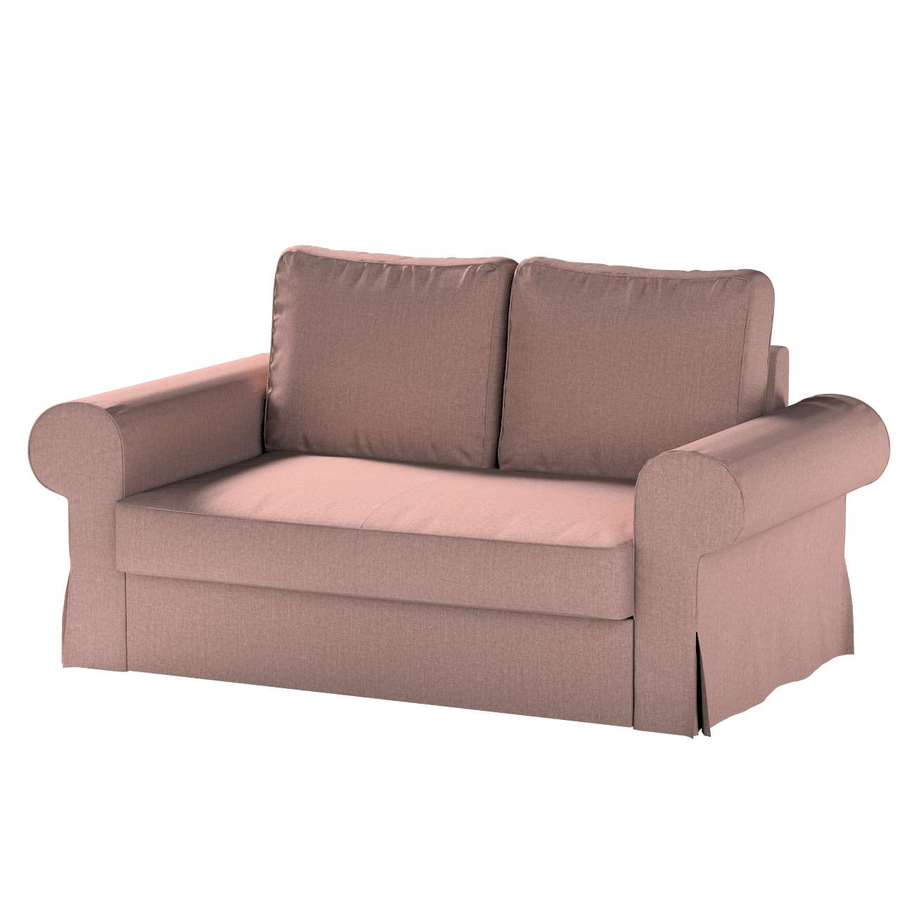 Pokrowiec na sofę Backabro 2-osobową rozkładaną w kolekcji City, tkanina: 704-83