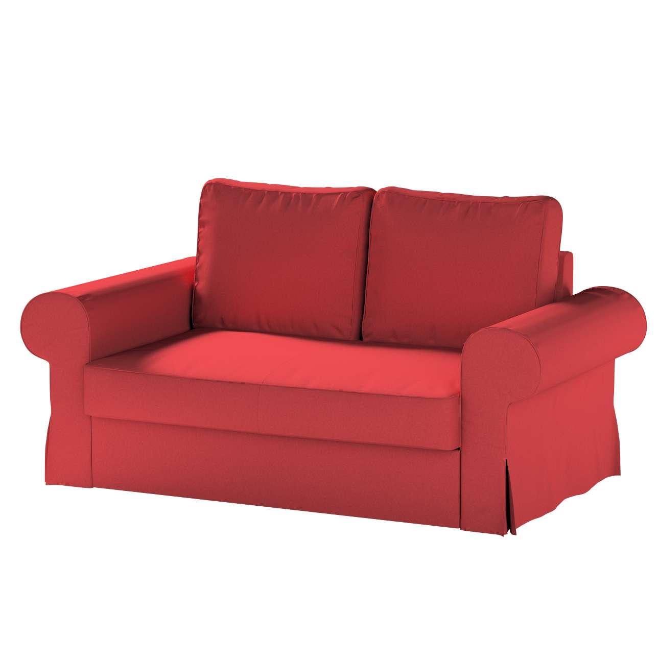 Pokrowiec na sofę Backabro 2-osobową rozkładaną w kolekcji Living, tkanina: 161-56