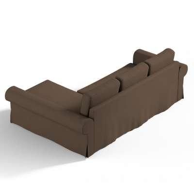 """""""Backabro"""" užvakalas sofai su gulimuoju krėslu 702-02 ruda Kolekcija Cotton Panama"""