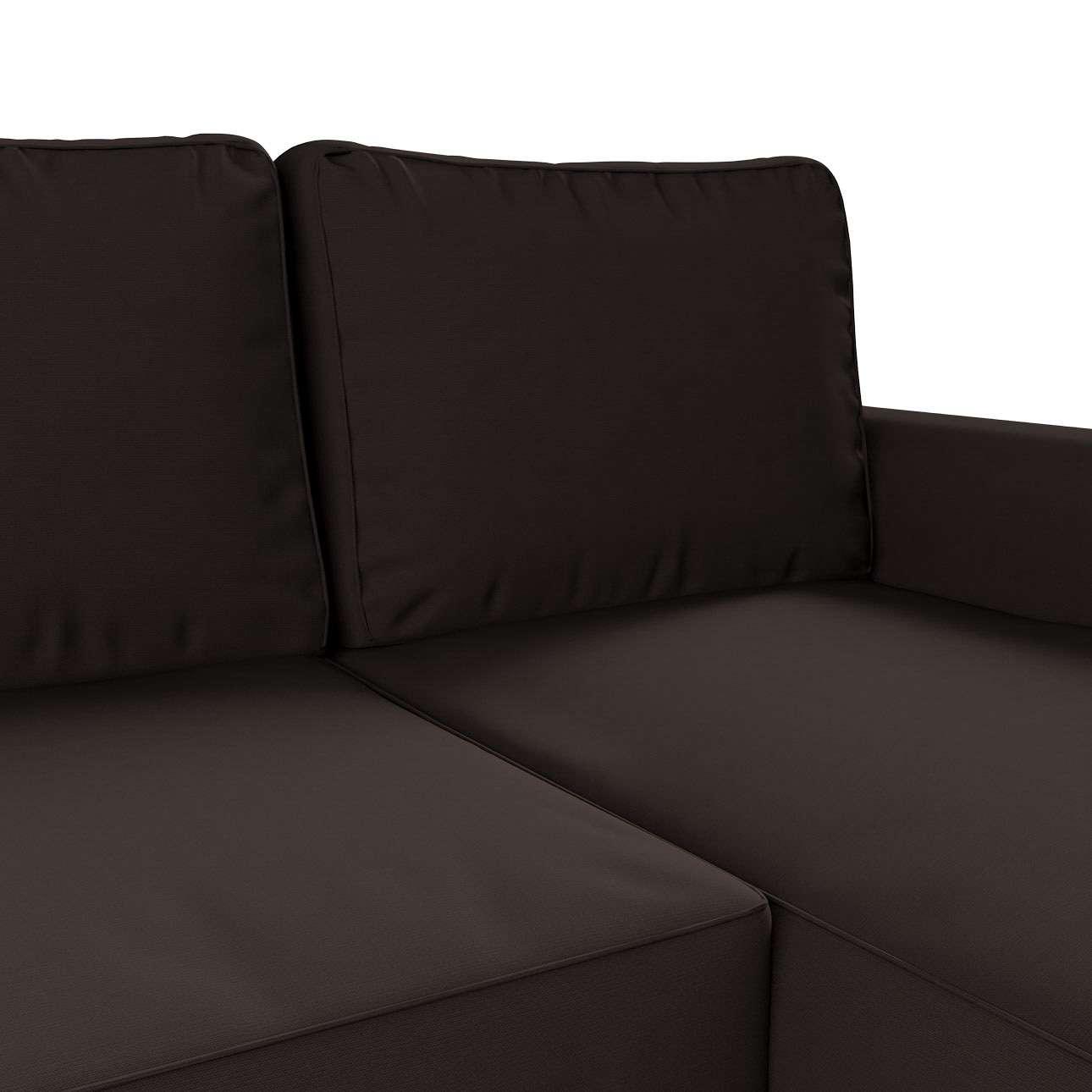 Pokrowiec na sofę Backabro rozkładaną z leżanką sofa Backabro rozkładana z leżanką w kolekcji Cotton Panama, tkanina: 702-03
