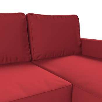 Pokrowiec na sofę Backabro rozkładaną z leżanką w kolekcji Cotton Panama, tkanina: 702-04