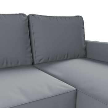 Pokrowiec na sofę Backabro rozkładaną z leżanką sofa Backabro rozkładana z leżanką w kolekcji Cotton Panama, tkanina: 702-07
