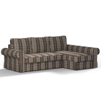 Backabro sofa bed with chaise longue cover