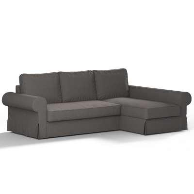 Pokrowiec na sofę Backabro rozkładaną z leżanką w kolekcji Edinburgh, tkanina: 115-77