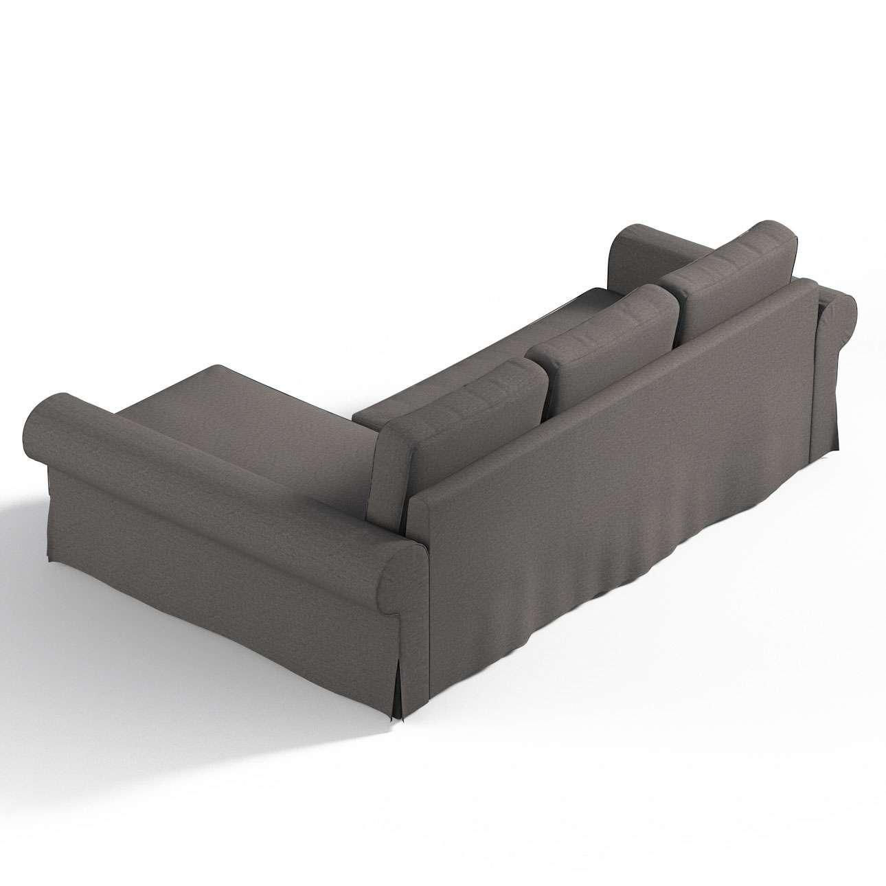 Pokrowiec na sofę Backabro rozkładaną z leżanką sofa Backabro rozkładana z leżanką w kolekcji Edinburgh, tkanina: 115-77