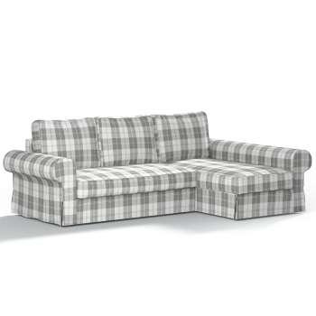 Pokrowiec na sofę Backabro rozkładaną z leżanką sofa Backabro rozkładana z leżanką w kolekcji Edinburgh, tkanina: 115-79