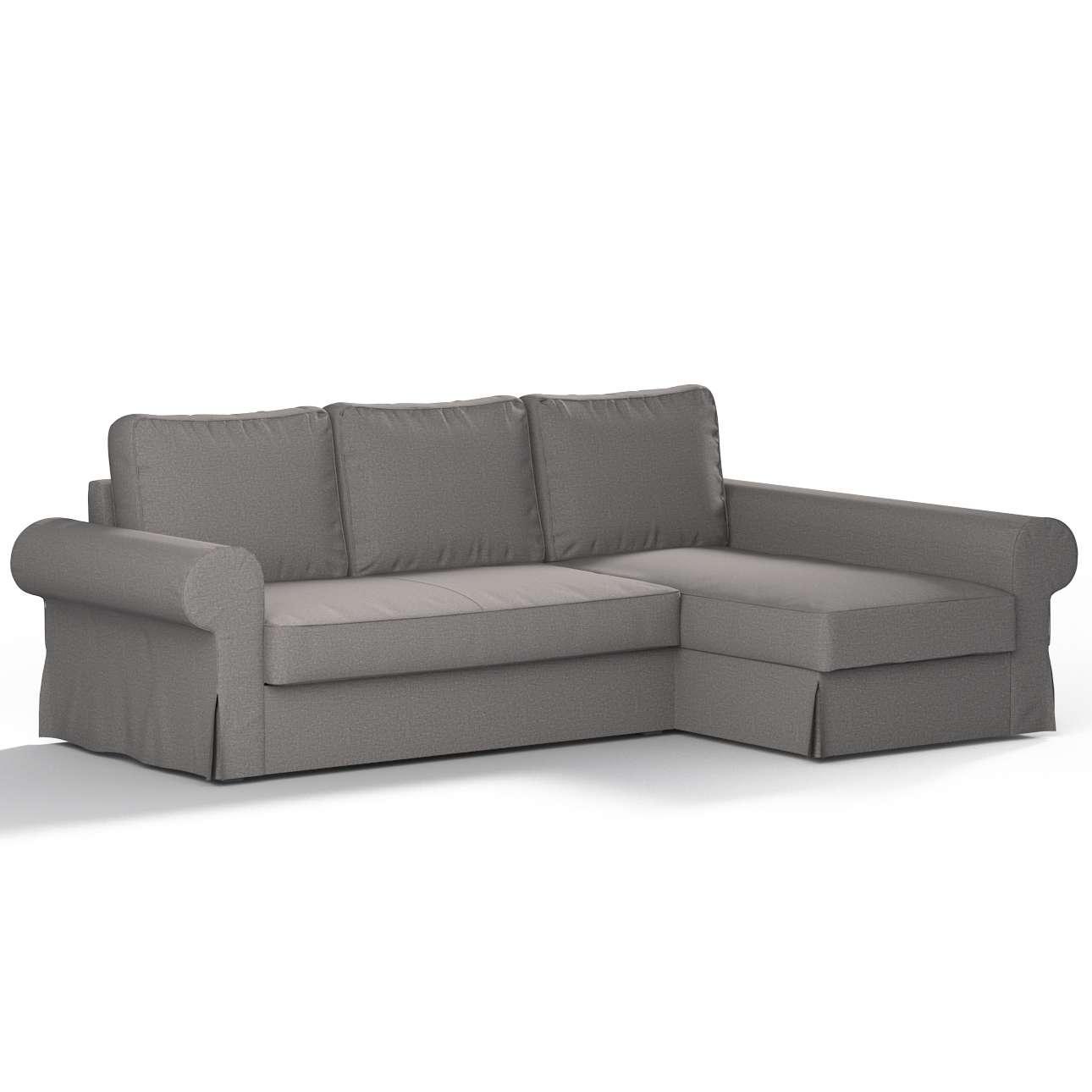 Pokrowiec na sofę Backabro rozkładaną z leżanką w kolekcji Edinburgh, tkanina: 115-81
