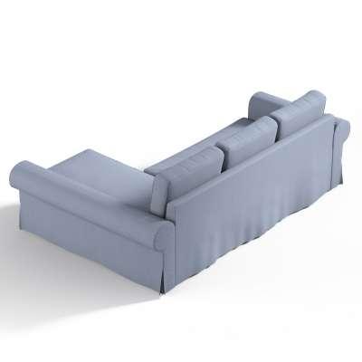 Poťah na sedačku Backabro (rozkladacia) s ležadlom V kolekcii Chenille, tkanina: 702-13