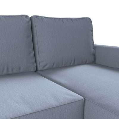 Pokrowiec na sofę Backabro rozkładaną z leżanką w kolekcji Chenille, tkanina: 702-13