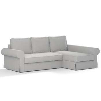 Pokrowiec na sofę Backabro rozkładaną z leżanką sofa Backabro rozkładana z leżanką w kolekcji Chenille, tkanina: 702-23