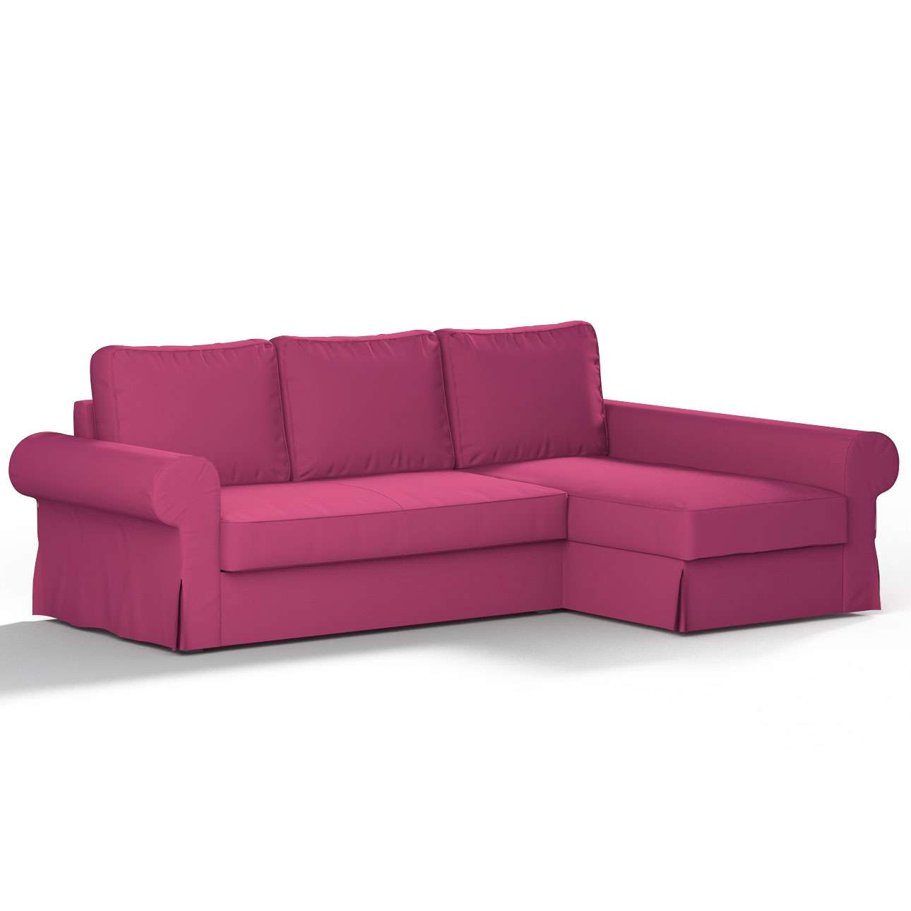 Pokrowiec na sofę Backabro rozkładaną z leżanką sofa Backabro rozkładana z leżanką w kolekcji Etna , tkanina: 705-23
