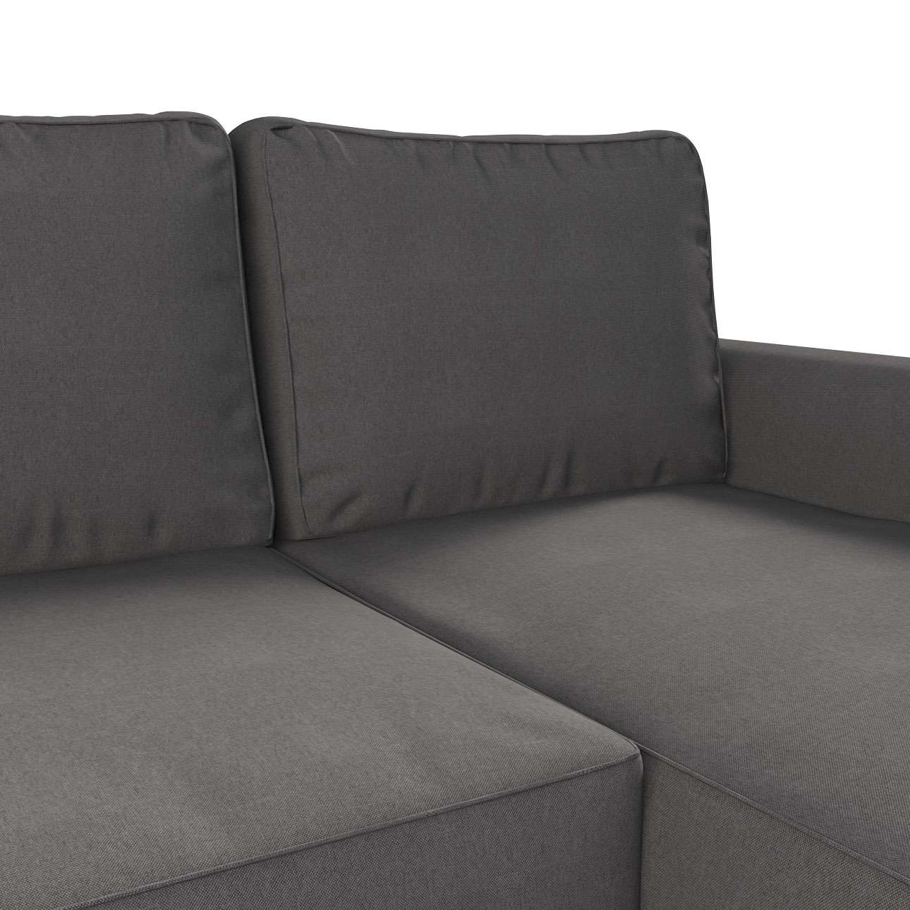 Pokrowiec na sofę Backabro rozkładaną z leżanką sofa Backabro rozkładana z leżanką w kolekcji Etna , tkanina: 705-35