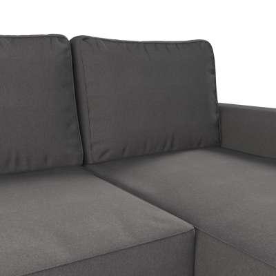 Pokrowiec na sofę Backabro rozkładaną z leżanką w kolekcji Etna, tkanina: 705-35