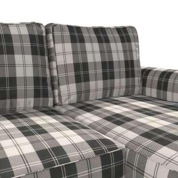 Pokrowiec na sofę Backabro rozkładaną z leżanką w kolekcji Edinburgh, tkanina: 115-74