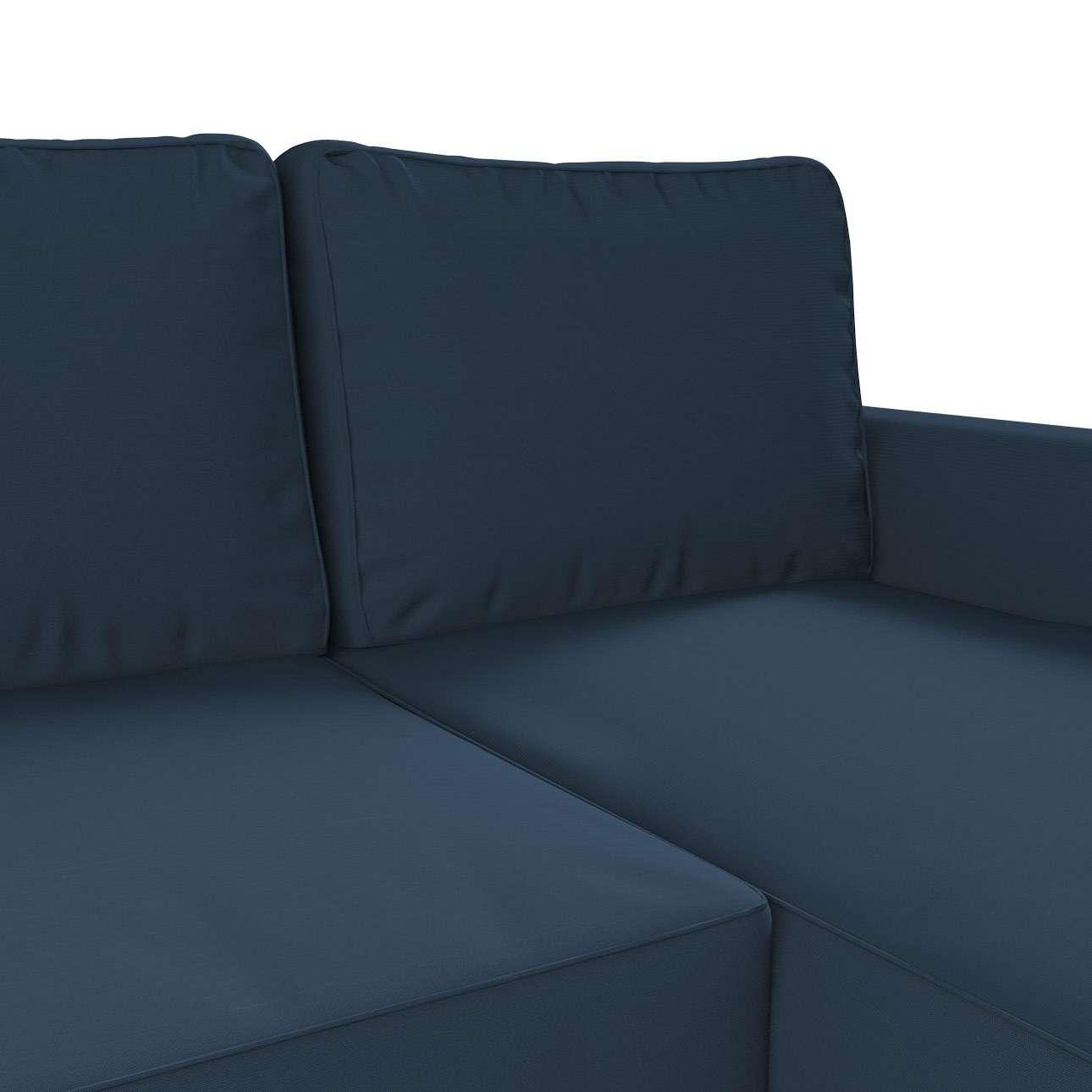 Pokrowiec na sofę Backabro rozkładaną z leżanką sofa Backabro rozkładana z leżanką w kolekcji Cotton Panama, tkanina: 702-30