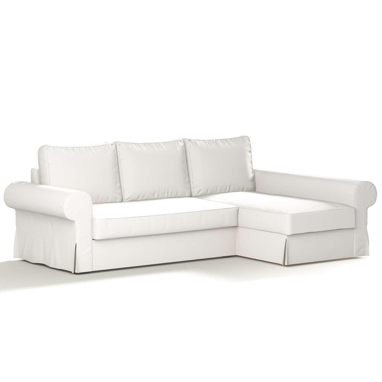 Backabro Bezug für Bettsofa / Recamiere von der Kollektion Cotton Panama, Stoff: 702-34