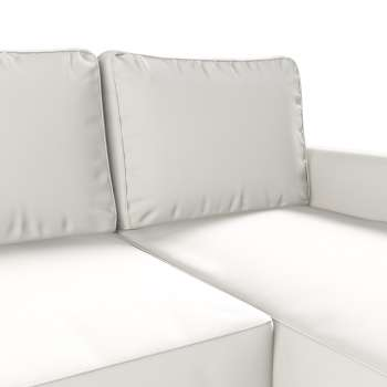 Pokrowiec na sofę Backabro rozkładaną z leżanką sofa Backabro rozkładana z leżanką w kolekcji Cotton Panama, tkanina: 702-34