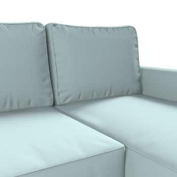 Pokrowiec na sofę Backabro rozkładaną z leżanką sofa Backabro rozkładana z leżanką w kolekcji Cotton Panama, tkanina: 702-10