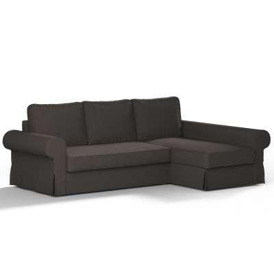 Pokrowiec na sofę Backabro rozkładaną z leżanką w kolekcji Etna, tkanina: 702-36