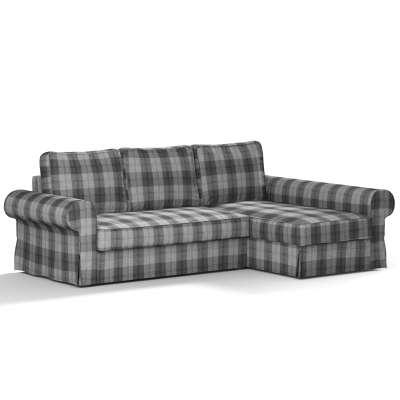 Pokrowiec na sofę Backabro rozkładaną z leżanką w kolekcji Edinburgh, tkanina: 115-75