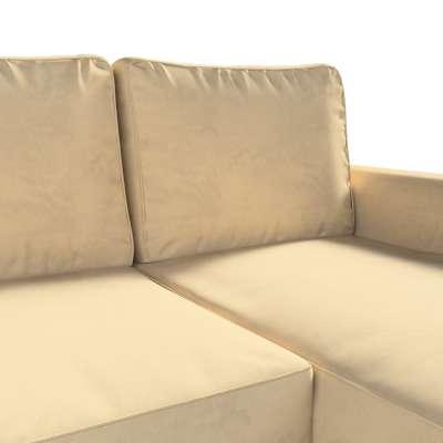 Pokrowiec na sofę Backabro rozkładaną z leżanką w kolekcji Living II, tkanina: 160-82