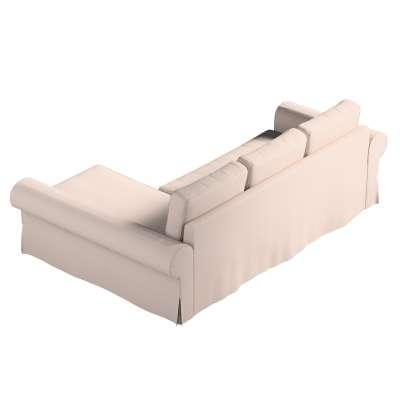 Pokrowiec na sofę Backabro rozkładaną z leżanką w kolekcji Living II, tkanina: 160-85