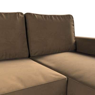 Pokrowiec na sofę Backabro rozkładaną z leżanką w kolekcji Living II, tkanina: 160-94